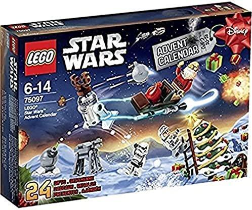 Lego Weihnachtskalender 2019.Lego Star Wars Advent Calendar 2015 75097 From 37 33