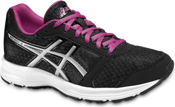 Asics Patriot 8 black/silver/berry (Damen) (T669N-9093)