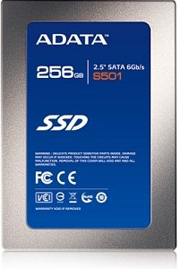 "ADATA S501 V2 256GB, 2.5"", SATA 6Gb/s (AS501V2-256GM-C)"