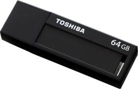 Toshiba TransMemory Black schwarz 64GB, USB-A 3.0 (THNV64DAIBLK6)