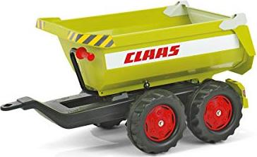 rolly toys rollyHalfpipe Claas Trailer green (122219)