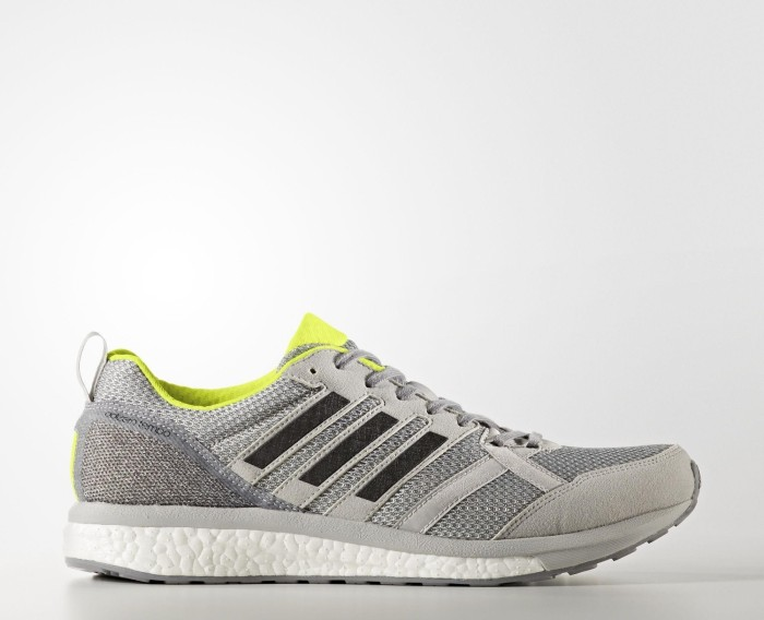 adidas adizero Tempo 9 grey two core black solar yellow ab € 88,88 ... 32e331621a