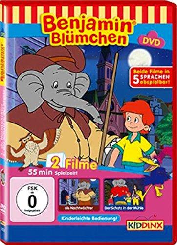 Benjamin Blümchen: Als Nachtwächter/Der Schatz in der Mühle -- via Amazon Partnerprogramm