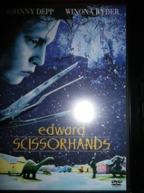 Edward Scissorhands (DVD) (UK)