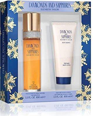 Elizabeth Taylor Diamonds and Saphires fragrance set -- via Amazon Partnerprogramm