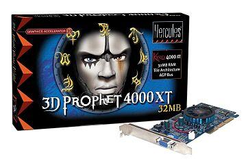 Guillemot / Hercules 3D Prophet 4000 XT, Kyro, 32MB, AGP, retail (4761169)