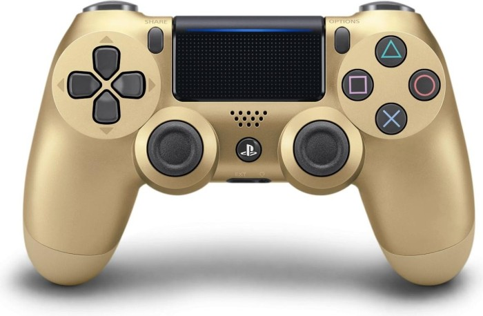 Sony DualShock 4 2.0 Controller wireless gold (PS4)