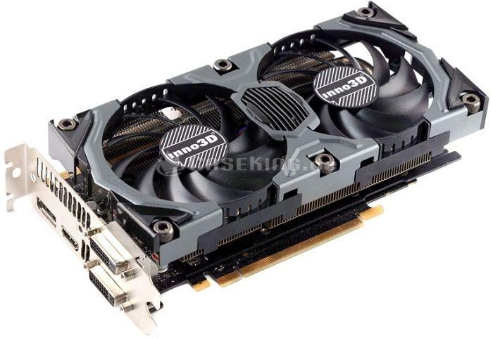 Inno3D GeForce GTX 970 Gaming OC, 4GB GDDR5, 2x DVI, HDMI, DisplayPort (N97V-1SDN-M5DSX) -- © caseking.de