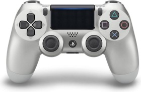 Sony DualShock 4 2.0 Controller wireless silber (PS4)
