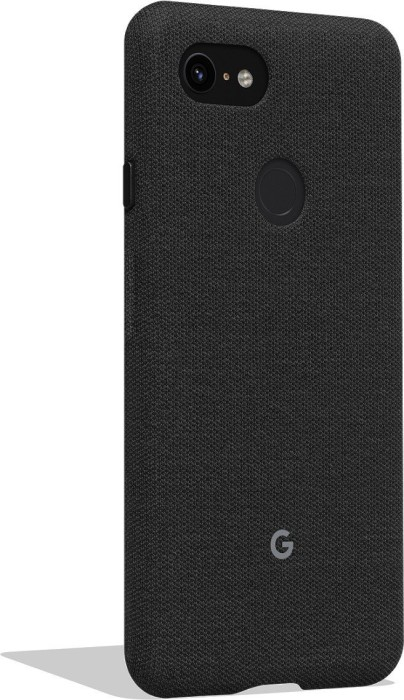 cheaper 8770a 4b18f Google fabric Back Cover for pixel 3 XL dark grey (GA00494)