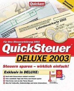 Lexware QuickSteuer 2003 9.x DeLuxe (PC)