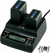Sony AC-SQ950D twin charger -- via Amazon Partnerprogramm