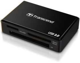 Transcend RDF8 schwarz Multi-Slot-Cardreader, USB 3.0 Micro-B [Buchse] (TS-RDF8K)