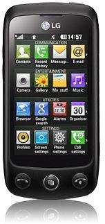 LG Electronics GS500 black