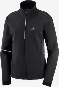 Salomon Agile Softshell Jacke schwarz (Damen) (C13600)