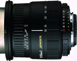 Sigma AF 28-105mm 2.8-4.0 Asp IF do Pentax K czarny (661945)
