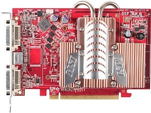 MSI RX1600XT-T2D256EZ, Radeon X1600 XT, 256MB DDR3, 2x DVI, TV-out, PCIe (V043-010/-0210)
