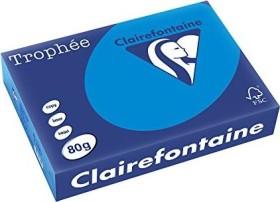 Clairefontaine Trophée Universalpapier karibikblau A4, 80g/m², 500 Blatt (1781C)