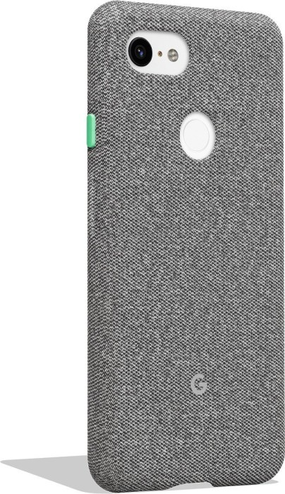 Google Fabric Back Cover für Pixel 3 XL hellgrau (GA00498)