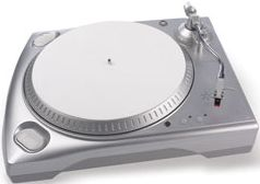 Ion TTUSB Turntable silber