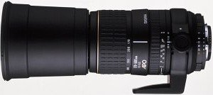 Sigma AF 170-500mm 5.0-6.3 Asp APO RF für Pentax K schwarz (733945)