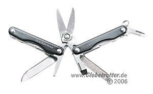 Leatherman Squirt S4 Multitool -- ©Globetrotter 2006