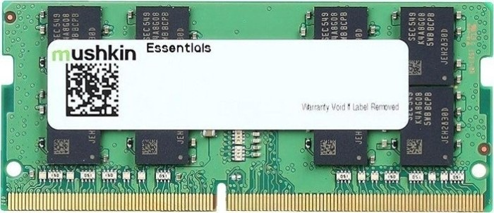 Mushkin Essentials SO-DIMM 8GB, DDR4-2133, CL15-15-15-36 (MES4S213FF8G18)