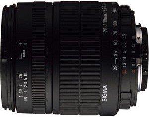 Sigma AF 28-300mm 3.5-6.3 Asp IF Makro für Pentax K schwarz (793945)