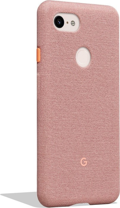 huge discount 50bc6 989b8 Google fabric Back Cover for pixel 3 XL pink (GA00500)