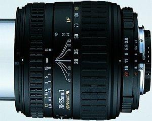 Sigma AF 28-135mm 3.8-5.6 Asp IF Makro für Pentax K schwarz (709945)
