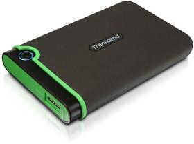 Transcend StoreJet 25M3 grau 2TB, USB 3.0 Micro-B (TS2TSJ25M3)