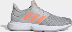 adidas Gamecourt grey two/signal coral/grey three (Damen) (EG2015)