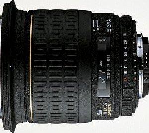 Sigma AF 20mm 1.8 EX DG Asp RF für Pentax K schwarz (411945)