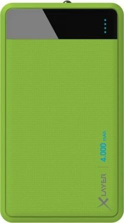 XLayer Powerbank Colour Line 4000 grün (215852)
