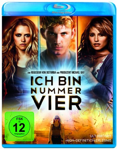 Ich bin Nummer Vier (2011) (Blu-ray) -- via Amazon Partnerprogramm
