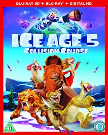 Ice Age 5 - Collision Course (3D) (Blu-ray) (UK)