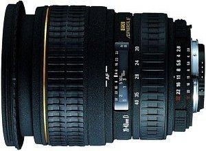 Sigma AF 20-40mm 2.8 EX DG Asp IF für Pentax K schwarz
