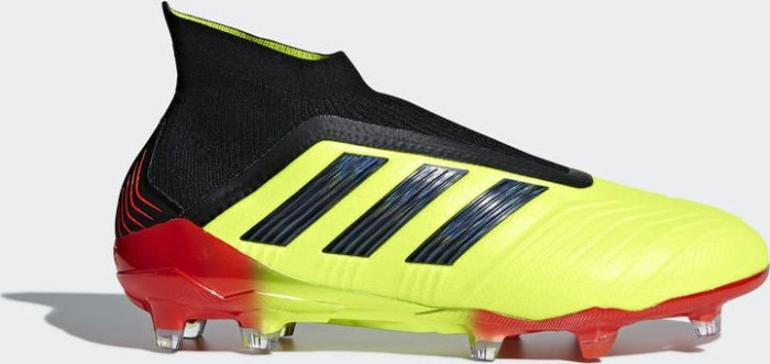 b191a886c714 adidas Predator 18+ FG solar yellow core black solar red (men ...