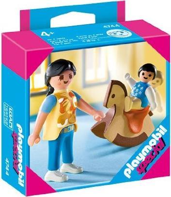 playmobil Special - Baby auf Schaukelpferd mit Mama (4744) -- via Amazon Partnerprogramm