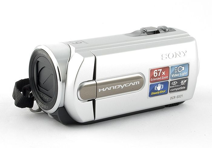 Sony DCR-SX21E silver -- http://bepixelung.org/20586