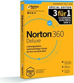 Symantec Norton 360 Deluxe, 3 User, 1 Jahr (deutsch) (Multi-Device) (21406104)