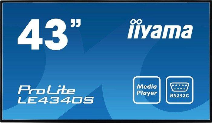 """iiyama ProLite LE4340S-B1, 43"""""""