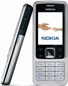 Nokia 6300 schwarz-silber