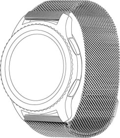 Topp Mesh-Wristlet for Samsung Galaxy Watch 46mm silver (40-37-1905)