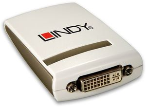 Lindy USB 2.0 on DVI adapter (42798)