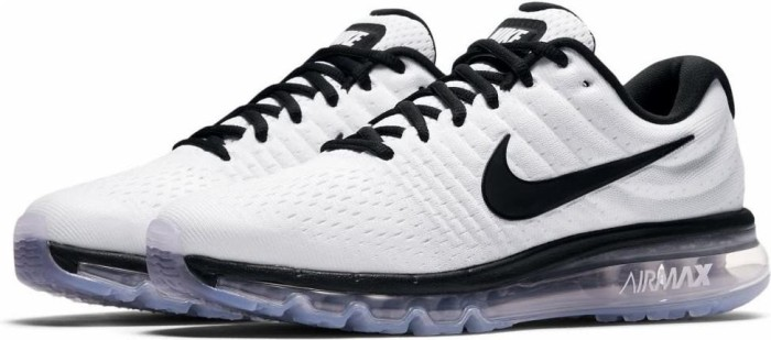 separation shoes a1ec4 6cb29 Nike Air Max 2017 white/black (men) (849559-105) from £ 106.63