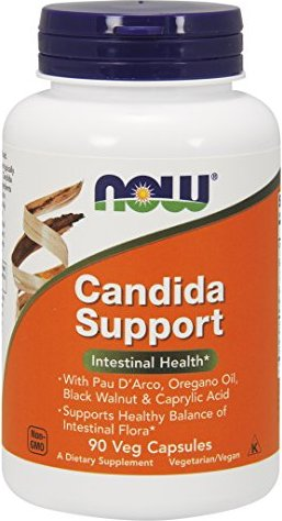now Candida support capsules, 90 pieces