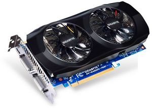 Gigabyte GeForce GTX 460 OC, 768MB GDDR5, 2x DVI, Mini HDMI (GV-N460OC-768I)