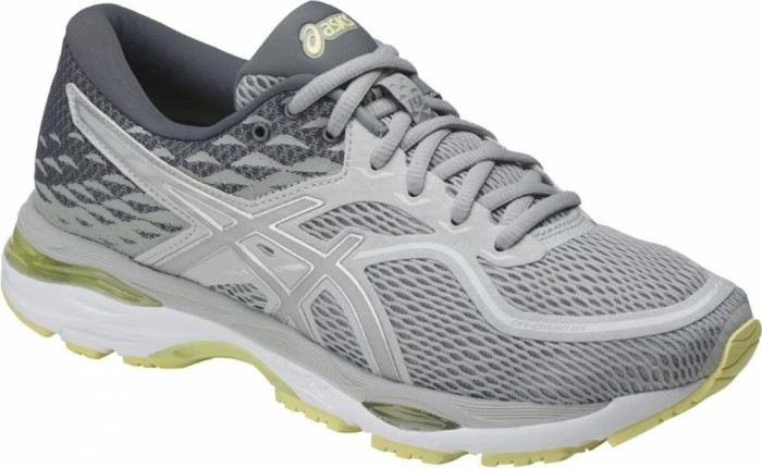 Asics Gel-Cumulus 19 glacier grey/silver/lime light (Damen) (T7B8N-9693)