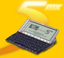Psion 5mx 16MB Limited Art Edition of Linecker